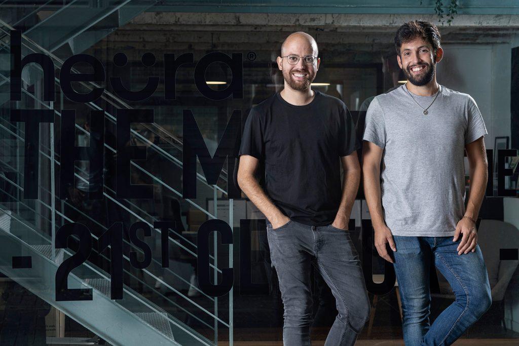 Marc Coloma y Bernat Añaños, fundadores de Heura